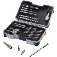 Bosch 35 Piece Drill and Screwdriver Bit Set for Wood