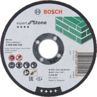 Bosch C24R BF Flat Stone Cutting Disc 115mm