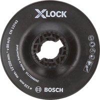 Bosch X Lock Hard Backing Pad 125mm