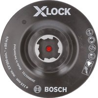 Bosch X Lock Hook and Loop Backing Pad 115mm