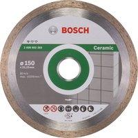 Bosch Standard Diamond Disc for Ceramic 150mm