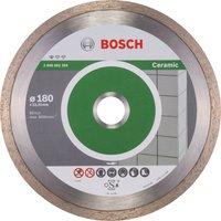 Bosch Standard Diamond Disc for Ceramic 180mm