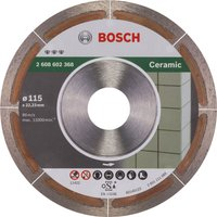 Bosch Extraclean Diamond Disc for Ceramic 115mm