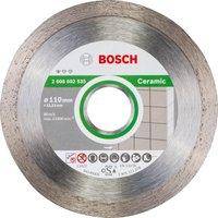 Bosch Standard Diamond Disc for Ceramic 110mm