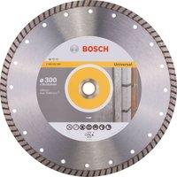 Bosch Turbo Diamond Disc Universal 300mm
