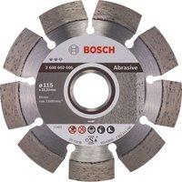 Bosch Expert Diamond Disc for Abrasive Materials 115mm