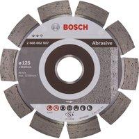 Bosch Expert Diamond Disc for Abrasive Materials 125mm