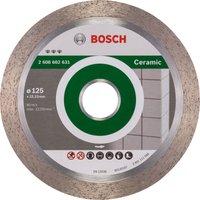 Bosch Best Ceramic Diamond Cutting Disc 125mm