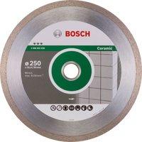 Bosch Ceramic Diamond Cutting Disc 250mm