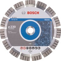 Bosch Best Stone Diamond Cutting Disc 230mm