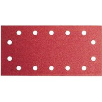 Bosch 115mm x 230mm Red Wood Top Sanding Sheet 115mm x 230mm 60g Pack of 10