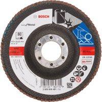 Bosch Zirconium Abrasive Flap Disc 115mm 60g