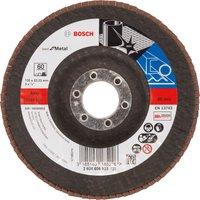 Bosch Zirconium Abrasive Flap Disc 125mm 60g