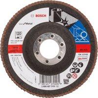 Bosch Zirconium Abrasive Flap Disc 115mm 120g