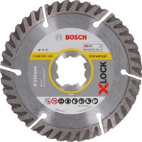 Bosch X Lock Standard Diamond Cutting Disc 115mm 1 6mm 22mm