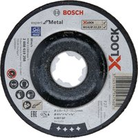 Bosch X Lock Expert Depressed Centre Grinding Disc 115mm 6mm 22mm
