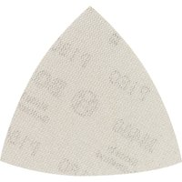 Bosch M480 Quick Fit Net Delta Sanding Sheets for Paint and Wood 93mm x 93mm 180g Pack of 5