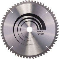 Bosch Optiline Wood Cutting Mitre Saw Blade 305mm 60T 30mm