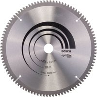 Bosch Optiline Wood Cutting Mitre Saw Blade 305mm 96T 30mm