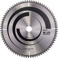 Bosch Multi Material Cutting Mitre and Table Saw Blade 305mm 80T 30mm
