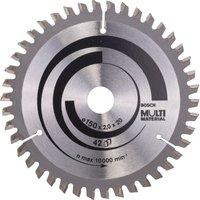 Bosch Multi Material Cutting Saw Blade 150mm 42T 20mm