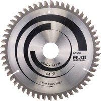 Bosch Multi Material Cutting Saw Blade 190mm 54T 30mm