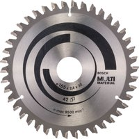 Bosch Multi Material Cutting Saw Blade 165mm 42T 30mm