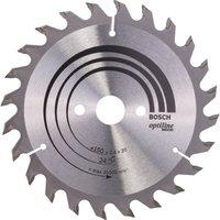 Bosch Optiline Wood Cutting Saw Blade 150mm 24T 20mm