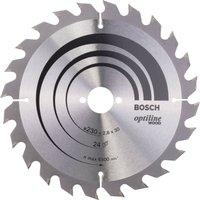 Bosch Optiline Wood Cutting Saw Blade 230mm 36T 30mm