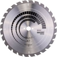 Bosch Construct Nail Proof Wood Cutting Table Saw Blade 400mm 28T 30mm