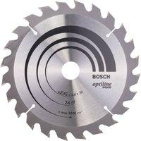 Bosch Optiline Wood Cutting Saw Blade 235mm 24T 30mm