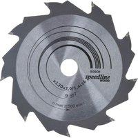 Bosch Speedline Wood Cutting Saw Blade 130mm 9T 16mm