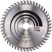 Bosch Optiline Wood Cutting Saw Blade 160mm 48T 20mm