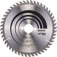Bosch Optiline Wood Cutting Saw Blade 184mm 48T 30mm