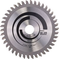 Bosch Multi Material Cutting Saw Blade 130mm 42T 20mm