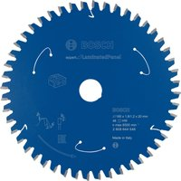 Bosch Expert Cordless Circular Saw Blade for Laminate Panel 160mm 48T 20mm