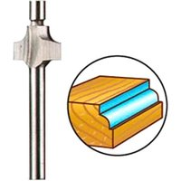 Dremel 612 Piloted Beading Router Bit 2 8mm Pack of 1