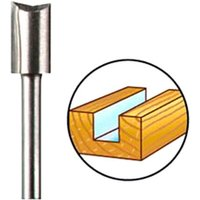 Dremel 650 Straight Router Bit 6.4mm Pack of 1