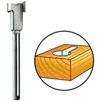 Dremel 655 Keyhole Router Bit 8mm Pack of 1