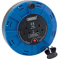 Draper Cassette Cable Extension Reel 15m