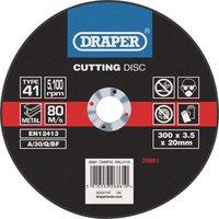 Draper Flat Metal Cutting Disc 300mm 2 8mm 20mm