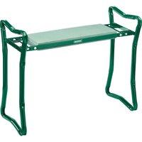 Draper Folding Metal Framed Garden Kneeler and Seat