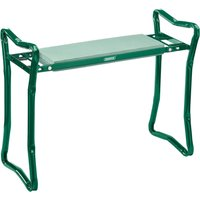 Draper Folding Metal Framed Garden Kneeler and Seat