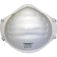 Draper FFP2 Moulded Disposable Dust Mask Pack of 1