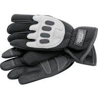 Draper Expert Mechanics / Power Tool Gloves Grey/ Black L