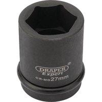 Draper Expert 3/4 Drive Hexagon Impact Socket Metric 3/4 27mm
