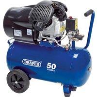 Draper DA50/412TV Air Compressor50 Litre 240v