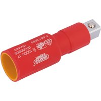 Draper 1/2 Drive VDE Fully Insulated Socket Extension Bar 1/2 75mm