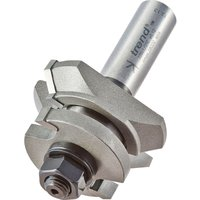 Trend Matchlining Bearing Guided Router Cutter Set 34mm 11mm 1 2