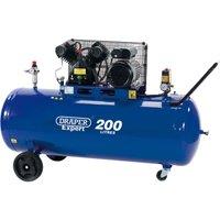 Draper DA200/300D 200 Litre Air Compressor 240v